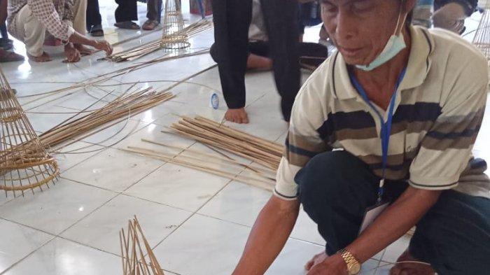 DKP Mesuji Sosialisasi dan Pelatihan Alat Tangkap Ramah Lingkungan di Desa Wiralaga