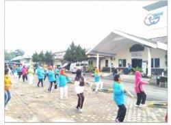 DM Club RSIM, dari Senam Bersama, Periksa Kesehatan, Hingga Edukasi Bagi Pasien Diabetes Melitus.