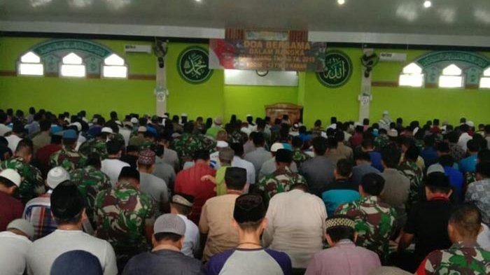 Kodim 0427/Way Kanan Gelar Doa Bersama Sambut Hari Juang TNI AD