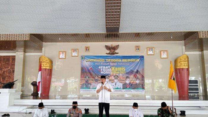 Pemkab Lampung Tengah Gelar Doa Bersama dari Rumah