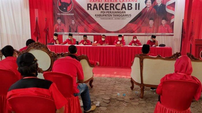 PDI-P Tanggamus Gelar Rakercab II, Kader Diminta Tampung Aspirasi Masyarakat