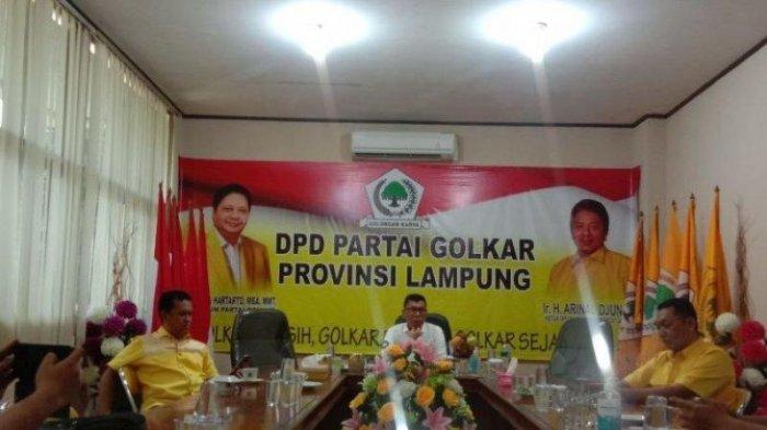 DPD II Golkar Metro Akan Gelar Musdalub dalam Waktu Dekat