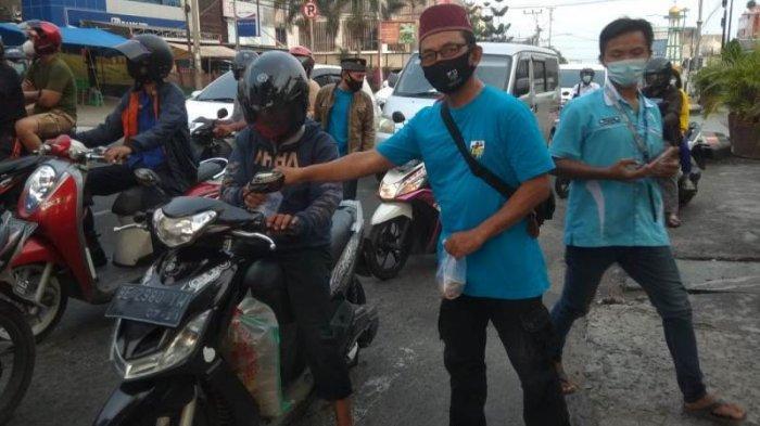 DPD KNPI Kota Bandar Lampung KC Teluk Betung Utara Adakan Kegiatan Berbagi Takjil dan Buka Bersama