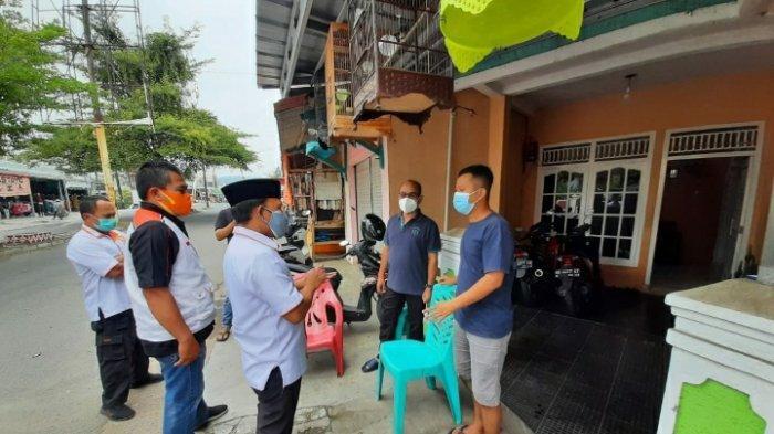 DPD PKS Lampung Selatan Sambangi Warga yang Tengah Isolasi Mandiri