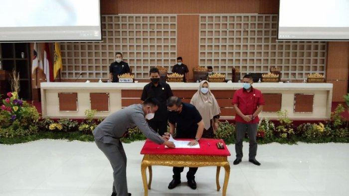 DPRD Bandar Lampung Terima Putusan Pleno Penetapan Paslonkada Terpilih Bandar Lampung dari KPU