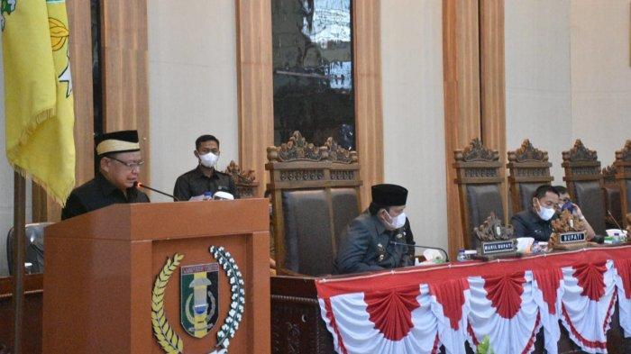 DPRD Lampung Timur Gelar Rapat Paripurna KUPA dan PPAS APBD TA 2021 dan RPJMD