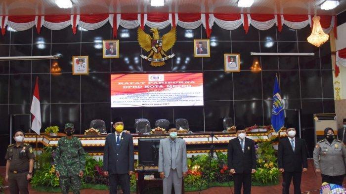 DPRD Metro Apresiasi Pengabdian Wali Kota Pairin