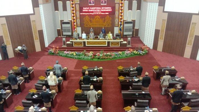 DPRD Pringsewu Gelar Rapat Paripurna Istimewa HUT ke-12 Pringsewu