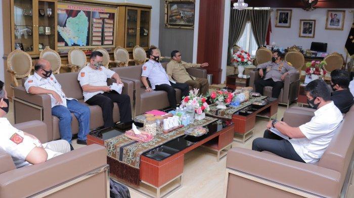 DPW GNP TIPIKOR Lampung Audensi dengan Kapolda Beserta Jajarannya