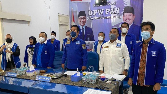 PAN Lampung Gelar Muscab Serentak, Irham: Harus Hasilkan Kader Militan