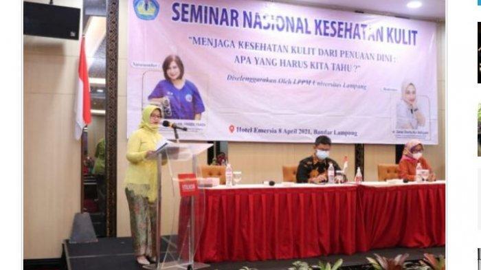 Darma Wanita Persatuan Universitas Lampung Peringati Hari Kartini 2021