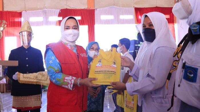 Ketua PMI Riana Sari Arinal Gelar Kegiatan Donor Darah di Kotabumi