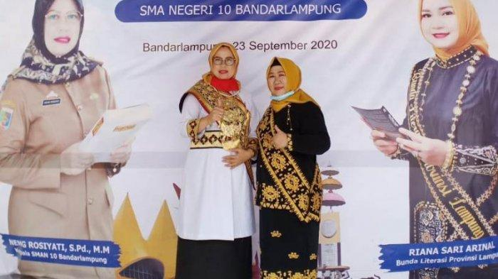 SMAN 10 Bandar Lampung Juarai Lomba Perpustakaan Sekolah Tingkat SMA se-Lampung, Miliki 70.800 Buku