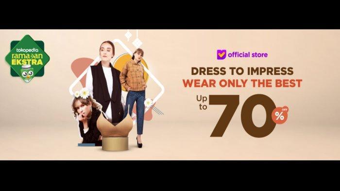 Diskon hingga 70 Persen di Dress to Impress, Promo Baju Lebaran 2019 Pakai Kode Voucher