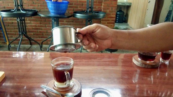 D'SAS Cafe and Resto Kalianda Suguhkan Berbagai Jenis Kopi, Vietnam Drip Jadi Favorit