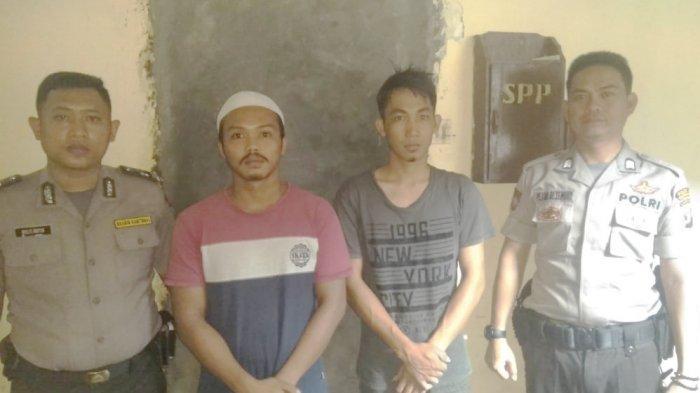 Dua Dari Tiga Pelaku Curanmor di Pasar Malam Ditangkap Anggota Polsek Tulangbawang Tengah