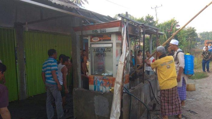 Dua Unit Pom Mini di Setia Negara Baradatu Dilalap Si Jago Merah, Pemilik Luka Bakar Sekujur Tubuh