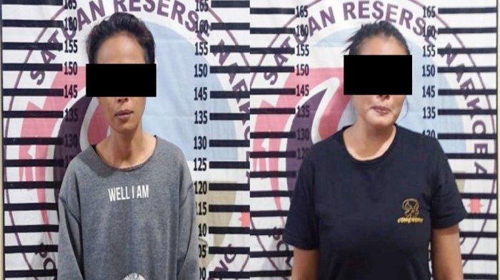 Salon Kecantikan Jadi Tempat Peredaran Narkoba di Tulangbawang Lampung, Dua Wanita Diamankan Polisi