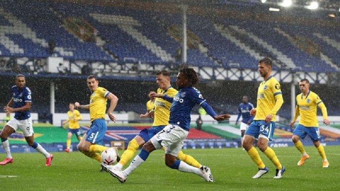 Duel laga Brighton vs Everton akan digelar di pekan ke 31 Liga Inggris, Selasa (13/4/2021) pukul 02.15.WIB