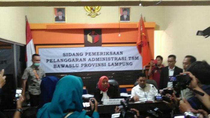 Ketua Bawaslu Lampung Putuskan Pasangan Arinal Nunik Tidak Terbukti Politik Uang