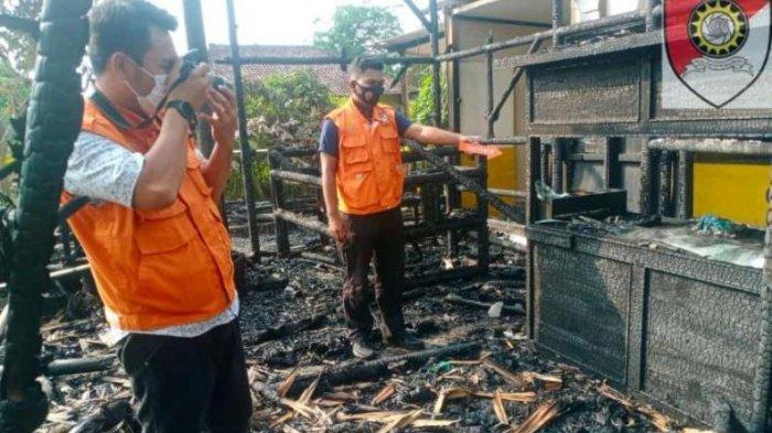 Dugaan Sementara Penyebab Kebakaran di Mini Cafe Epipani Lampung Selatan Akibat Korsleting Listrik
