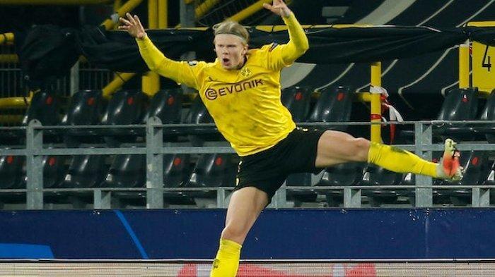 Man City Prioritaskan Berburu Striker, Bintang Borussia Dortmund Erling Haaland Jadi Incaran