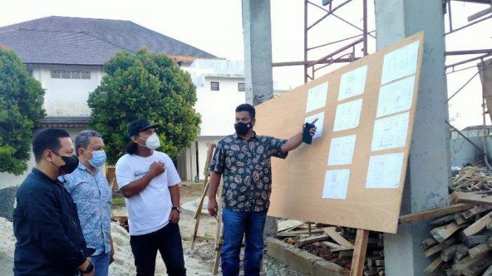 E-Sport Menggeliat, Ketum ESI Lampung Tinjau Pembangunan Kantor