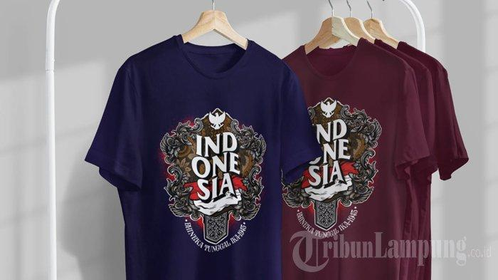 Beberapa produk t-shirt yang ditawarkan Easywearcloth.