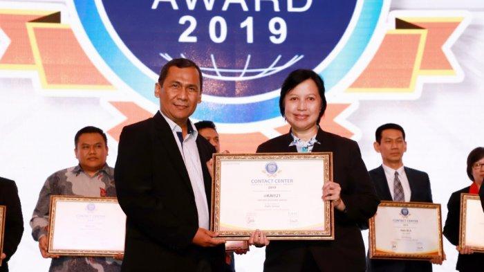 PT KAI (Persero) Raih Layanan Contact Centre Terbaik di ajang CCSE Award 2019