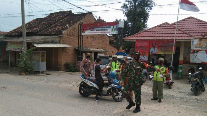 Pasca Libur Lebaran, Koramil 410-01/Panjang Gencar Edukasi Prokes Warga
