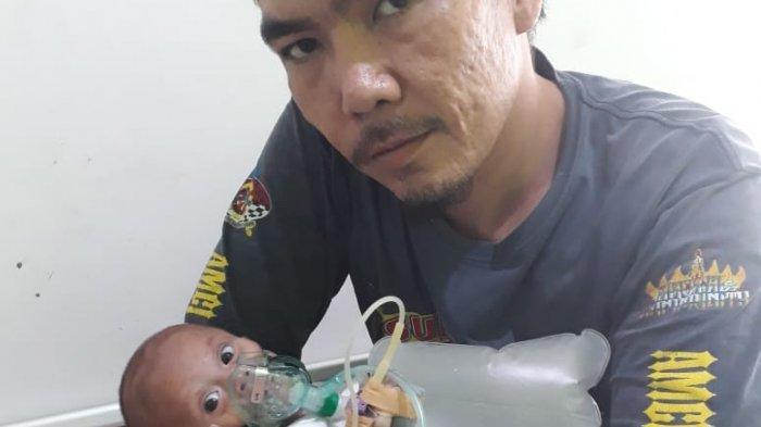 Idap Infeksi Paru-paru, Bayi 4 Bulan Asal Ganjar Asri Kota Metro Butuh Rujukan ke RSUAM