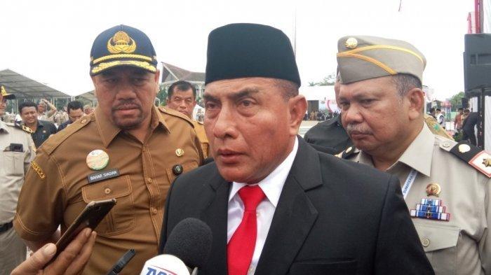 Gubernur Edy Rahmayadi Jawab Protes Menantu Jokowi, 'Kalau Tidak Tahu, Tanya Tuhan'