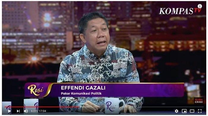 Pakar Komunikasi Politik Effendi Gazali Sebut Tak Mudah Pertemukan Prabowo dan Jokowi. Ini Alasannya