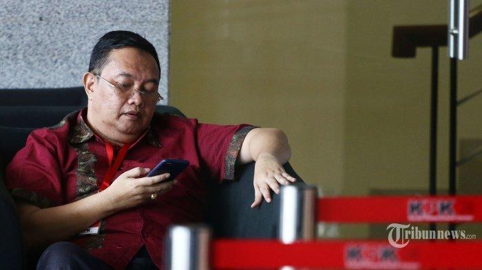 Mantan Wakil Bupati Lampung Utara Sri Widodo Diperiksa KPK Terkait Kasus Mustafa