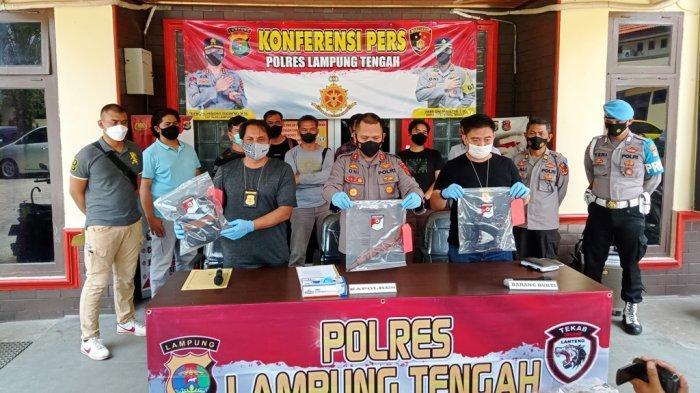 Kapolres Lampung Tengah AKBP Oni Prasetya: Keberhasilan Ungkap Kasus Pembunuhan Hasil Kerja Tim