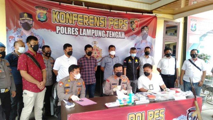 Curat Mendominasi Kejahatan di Lampung Tengah