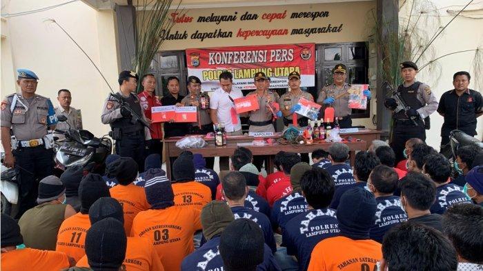 BREAKING NEWS - Polisi Amankan 102 Tersangka dalam 2 Pekan Operasi Cempaka