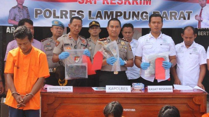 BREAKING NEWS - Kapolres Lambar: Suyanto Bacok Istrinya Berkali-kali hingga Meregang Nyawa
