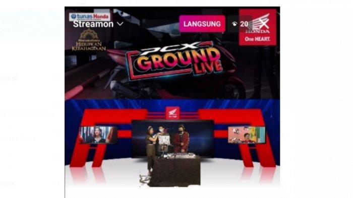 Tunas Honda Lampung Hadikan Event PCX Ground Live