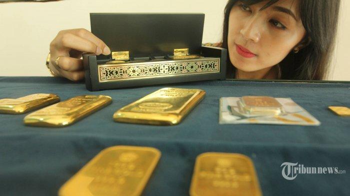 Harga Emas Antam dan UBS Naik