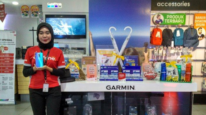 Erafone Megastore Mal Kartini Gelar Promo Cicilan Nol Persen Untuk Pembelian Handphone Oppo