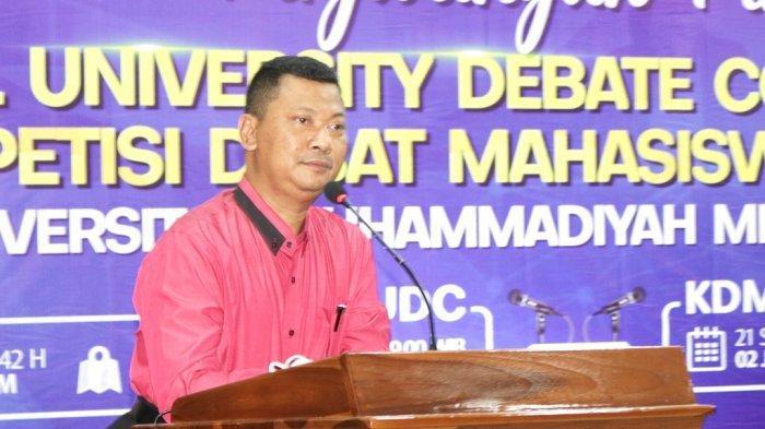 Penjaringan Peserta KDMI, Wakil Rektor III UM Metro Ajak Mahasiswa Perbanyak Literasi