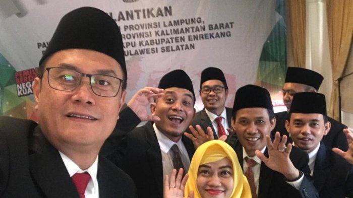 Sah! Erwan Bustami Ditetapkan Sebagai Ketua KPU Lampung yang Baru