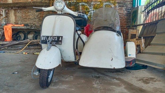 Info Motor, Biaya Modifikasi Motor Vespa Jenis VBB di Teddy Motor modifikasi Lampung