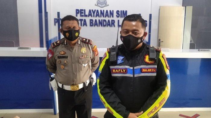 Polresta Bandar Lampung Sebar 100 Personel Amankan Titik Rawan Macet dan Rumah Ibadah