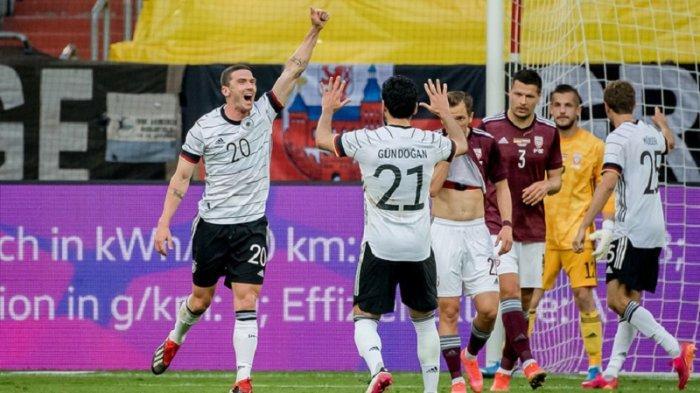 Link Live Steaming Euro 2021,Jerman Kian Percaya Diri Usai Lumat Latvia di Partai Uji Coba
