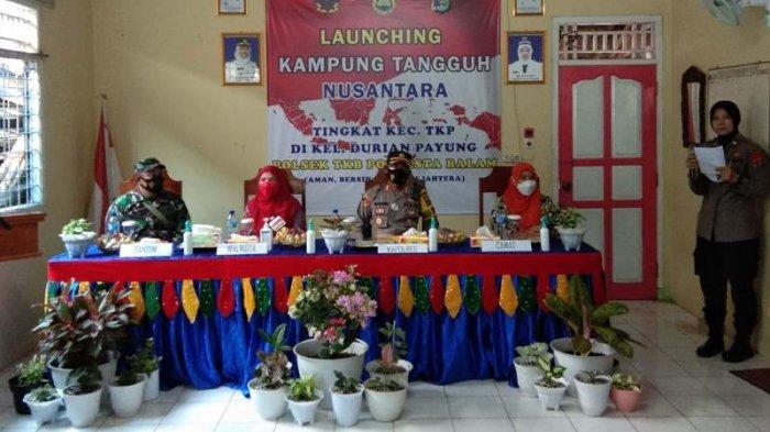 Launching Kampung Tangguh Nusantara, Eva Dwiana: Harus Jadi Kampung Tangguh Cegah Covid-19