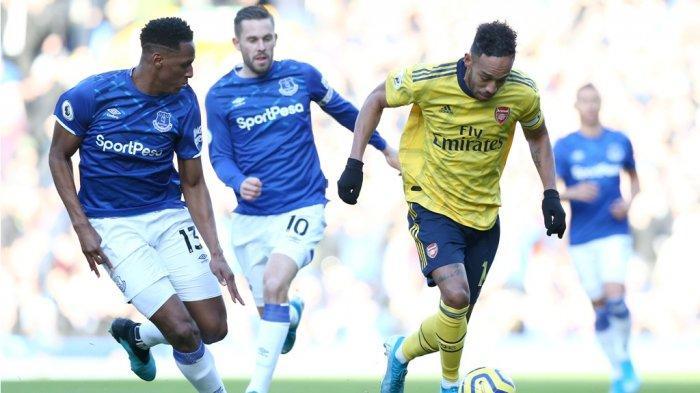 Live Streaming Mola TV Everton vs Liverpool, Manchester City vs Arsenal dan Newcastle vs Man United