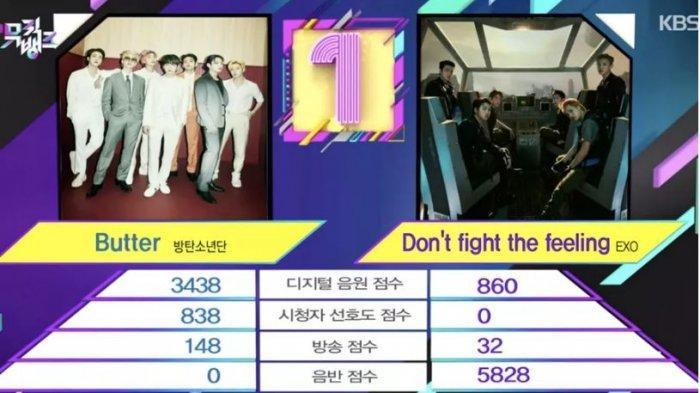 EXO raih kemenangan di Music Bank