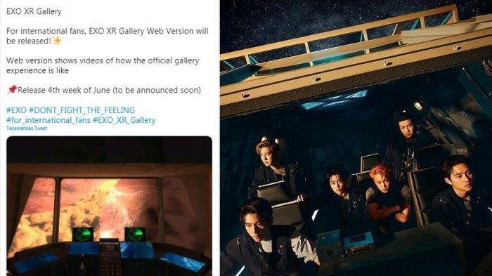 EXO XR Gallery Umumkan Tanggal Pameran untuk EXO-L Dunia